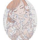 Sanfte Blumen von JennyJinya