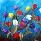 Tulips Galore II by Ruth Palmer