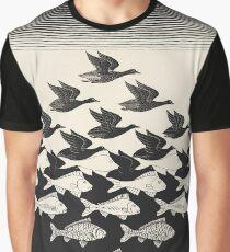 Sky and Water I - Maurits Cornelis Escher Graphic T-Shirt