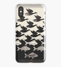 Sky and Water I - Maurits Cornelis Escher iPhone Case