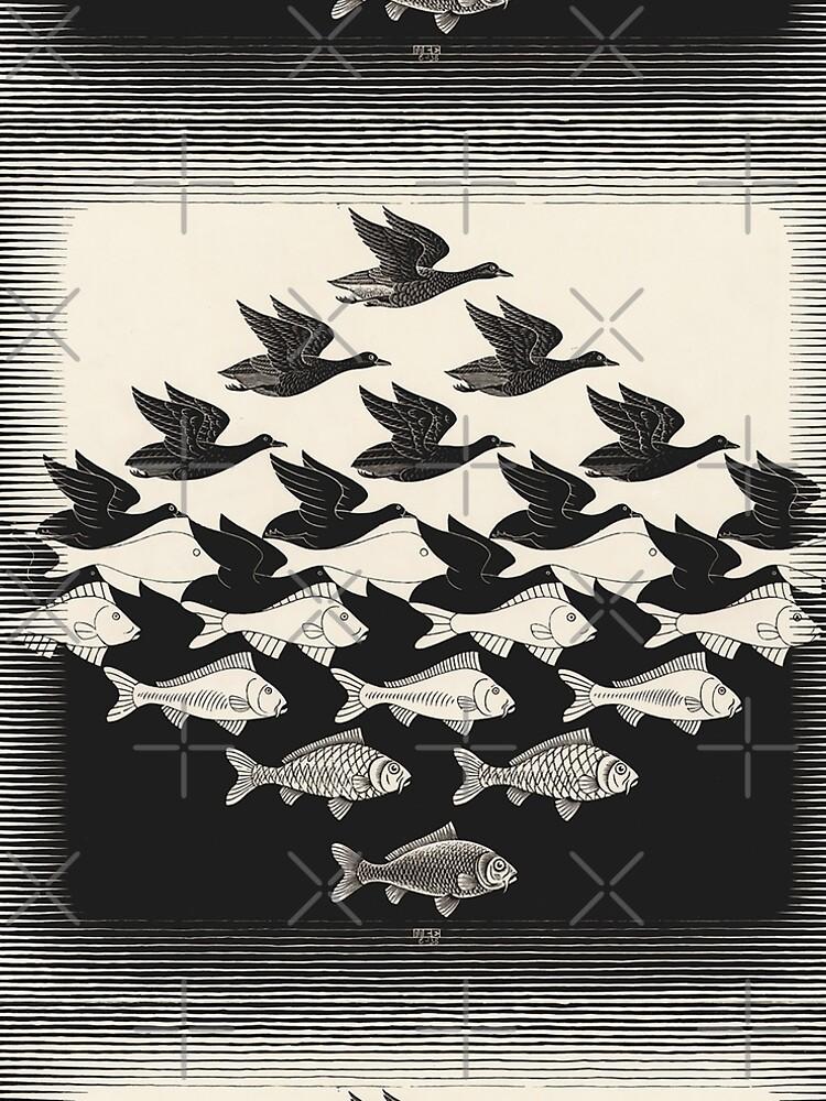 Sky and Water I - Maurits Cornelis Escher by CodyBradley