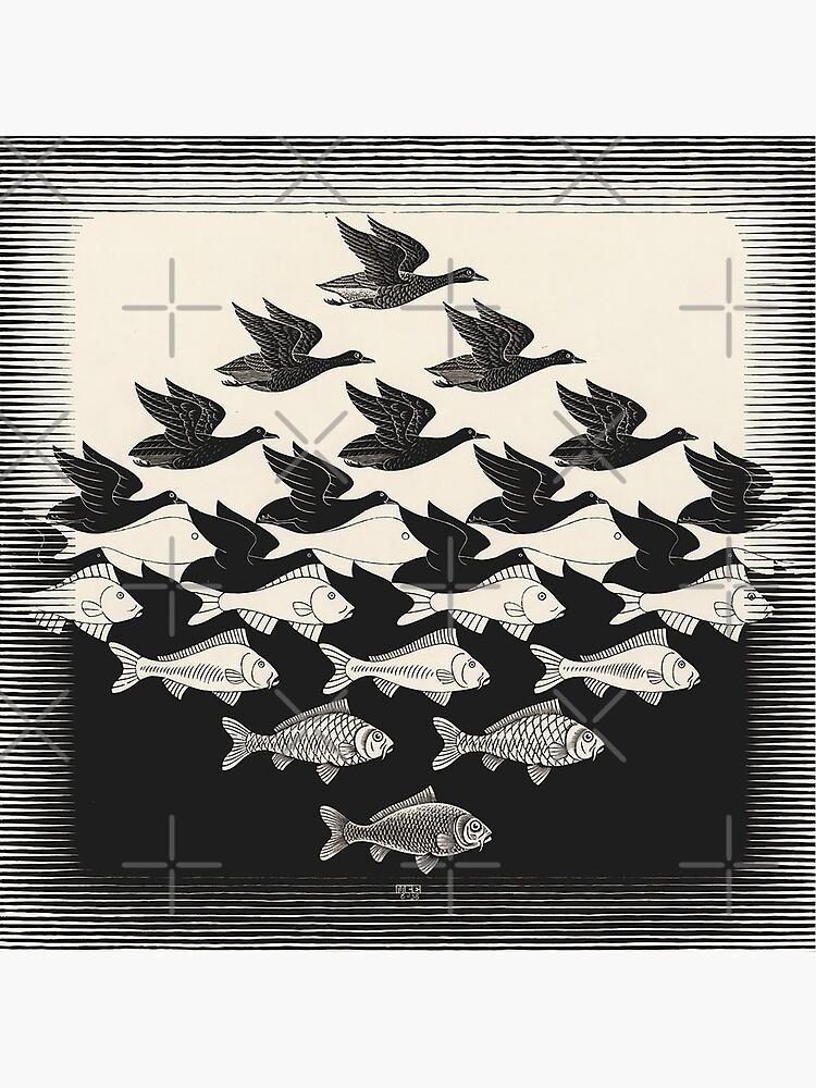 Himmel und Wasser I - Maurits Cornelis Escher von CodyBradley