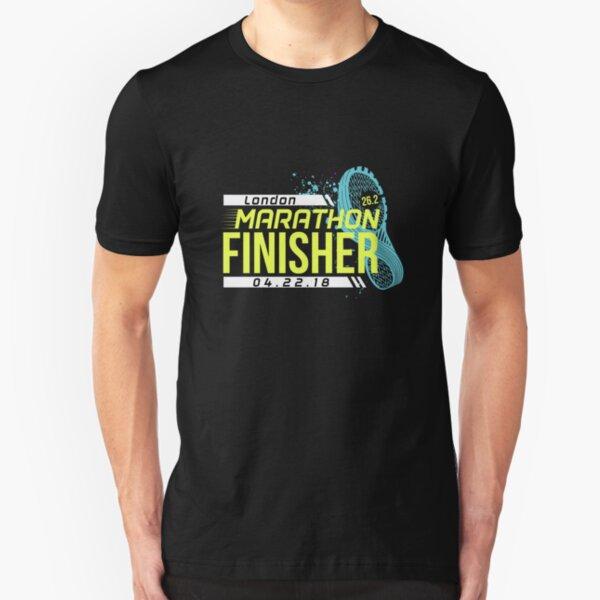 London Marathon 2018 Slim Fit T-Shirt