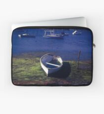 Boat on a lake Laptop Sleeve