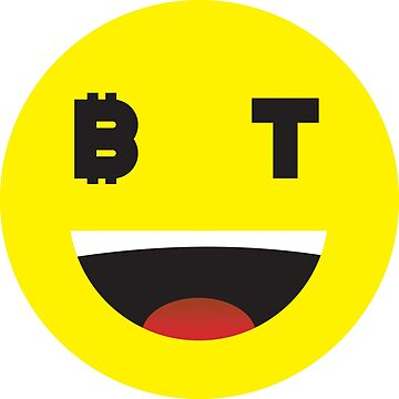 Bitcoin Laughing Smiley by Bitcoin-Smiley