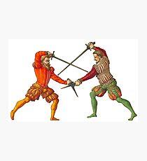 A Gentleman's Duel Photographic Print