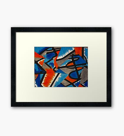 Abstract Leger no.2 Framed Print