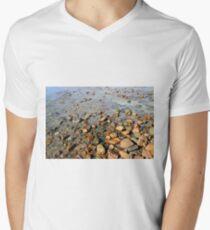Rocks to the Horizon (V1) Men's V-Neck T-Shirt