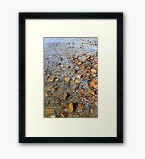 Rocks to the Horizon (V2) Framed Print
