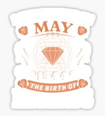 May 1944 The Birth Of Legends Sticker