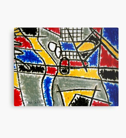 A Tribute to Ferdnand Léger Metal Print