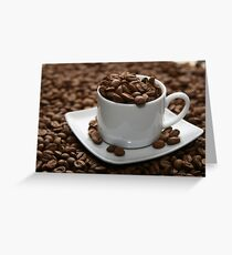 Coffee To Go Greeting Card