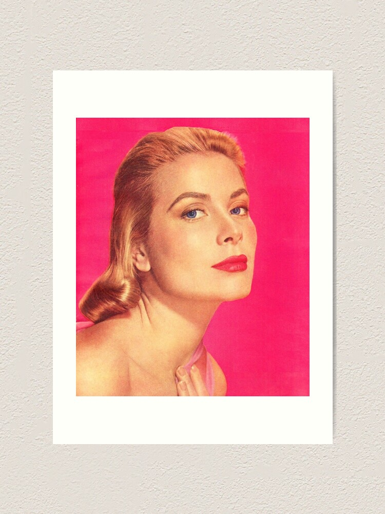GRACE KELLY Canvas Framed Print Wall Art ~ More Size