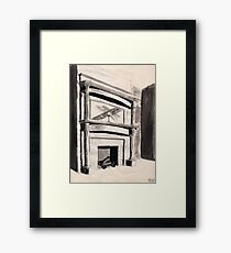 Historic Hearth Framed Print