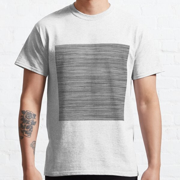 Weave, template, routine, stereotype, gauge, mold, sample, specimen Classic T-Shirt
