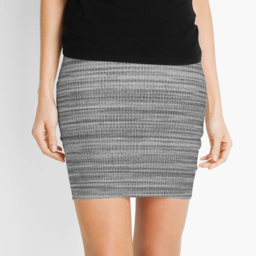 Weave, template, routine, stereotype, gauge, mold, sample, specimen Mini Skirt