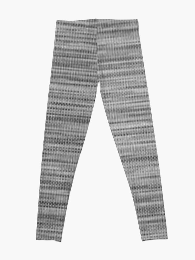 Alternate view of Weave, template, routine, stereotype, gauge, mold, sample, specimen Leggings