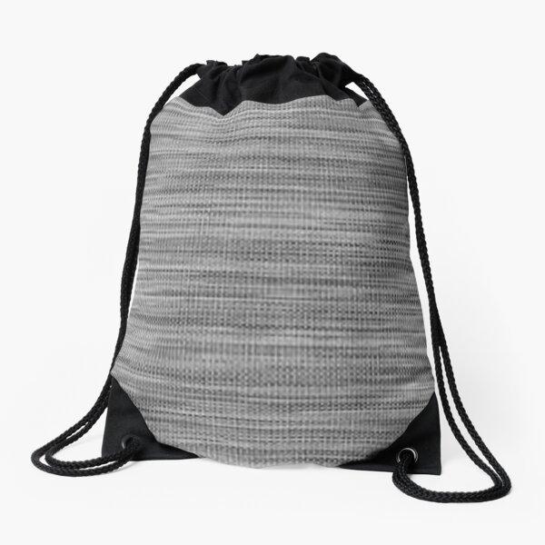 Weave, template, routine, stereotype, gauge, mold, sample, specimen Drawstring Bag