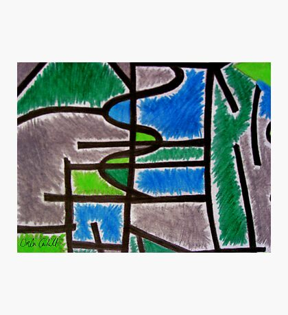 Abstract Léger no.4 Photographic Print