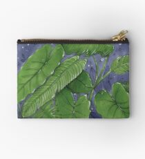 Tropical Foliage 1 Studio Pouch