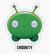 Chookity Sticker