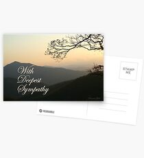 With Deepest Sympathy Postcards