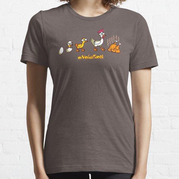 Chicken Evolution Meme Essential T-Shirt