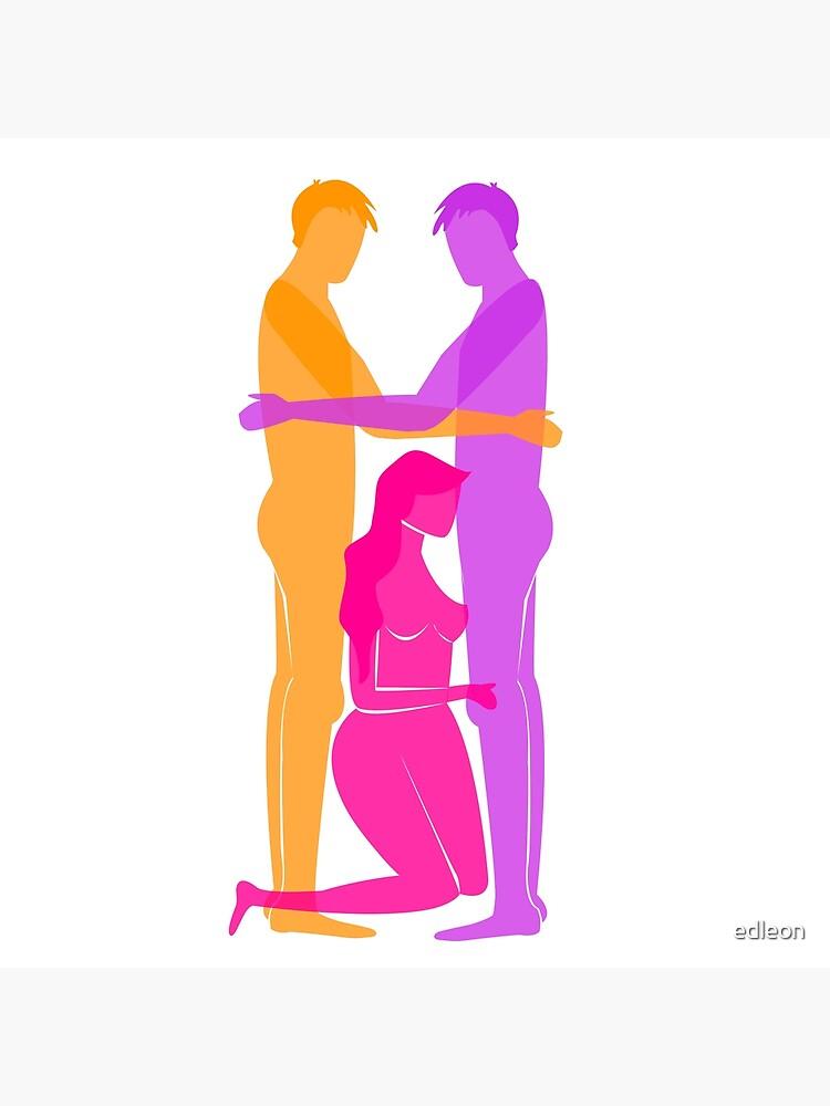 Threesome Art Print by edleon | Redbubble