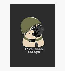 Pug of War Photographic Print