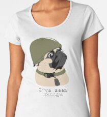 Pug of War Women's Premium T-Shirt