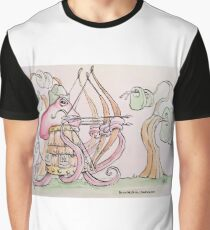 Octopus Hood, the greatest archer in the sea Graphic T-Shirt