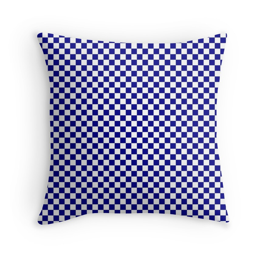 Large Australian Blue and White Check
