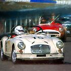 White MG Roadster by Stuart Row