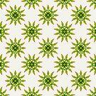 Leaves Mandala II by raquelcatalan