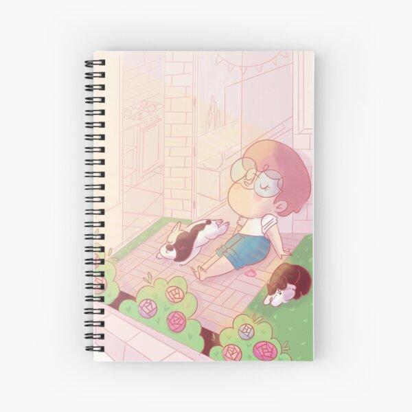 Lau Ilustra - Happy Life Spiral Notebook