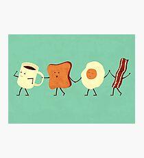 Lámina fotográfica Vamos todos a desayunar