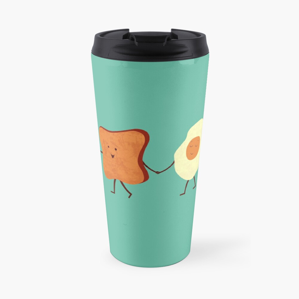 Let's All Go And Have Breakfast Travel Mug