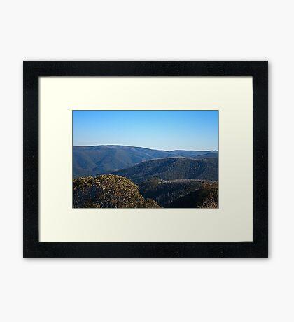 Mt Hotham's Autumn Framed Print