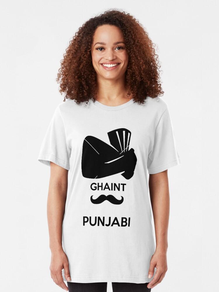Ghaint punjabi desi indian | Slim Fit T-Shirt