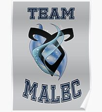 Team Malec Poster