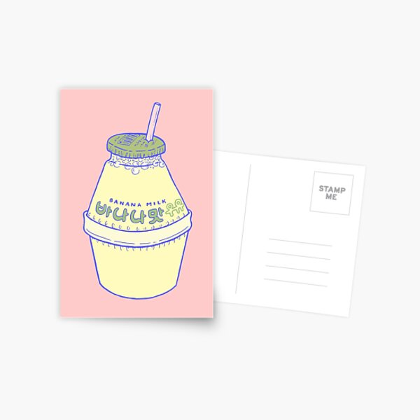 Banana Milk Postcard