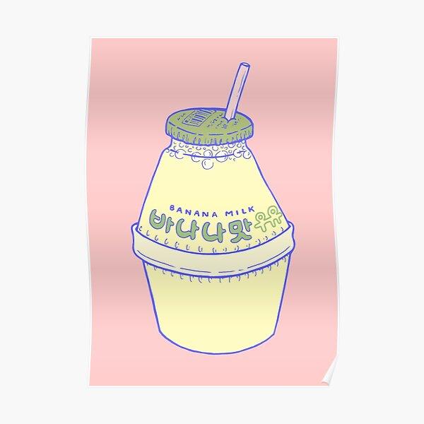 Banana Milk Poster