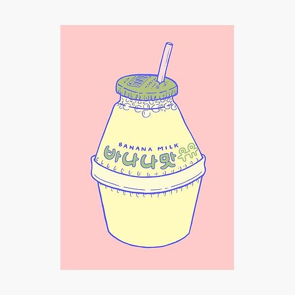 Banana Milk Photographic Print