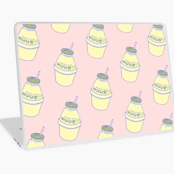 Banana Milk Laptop Skin