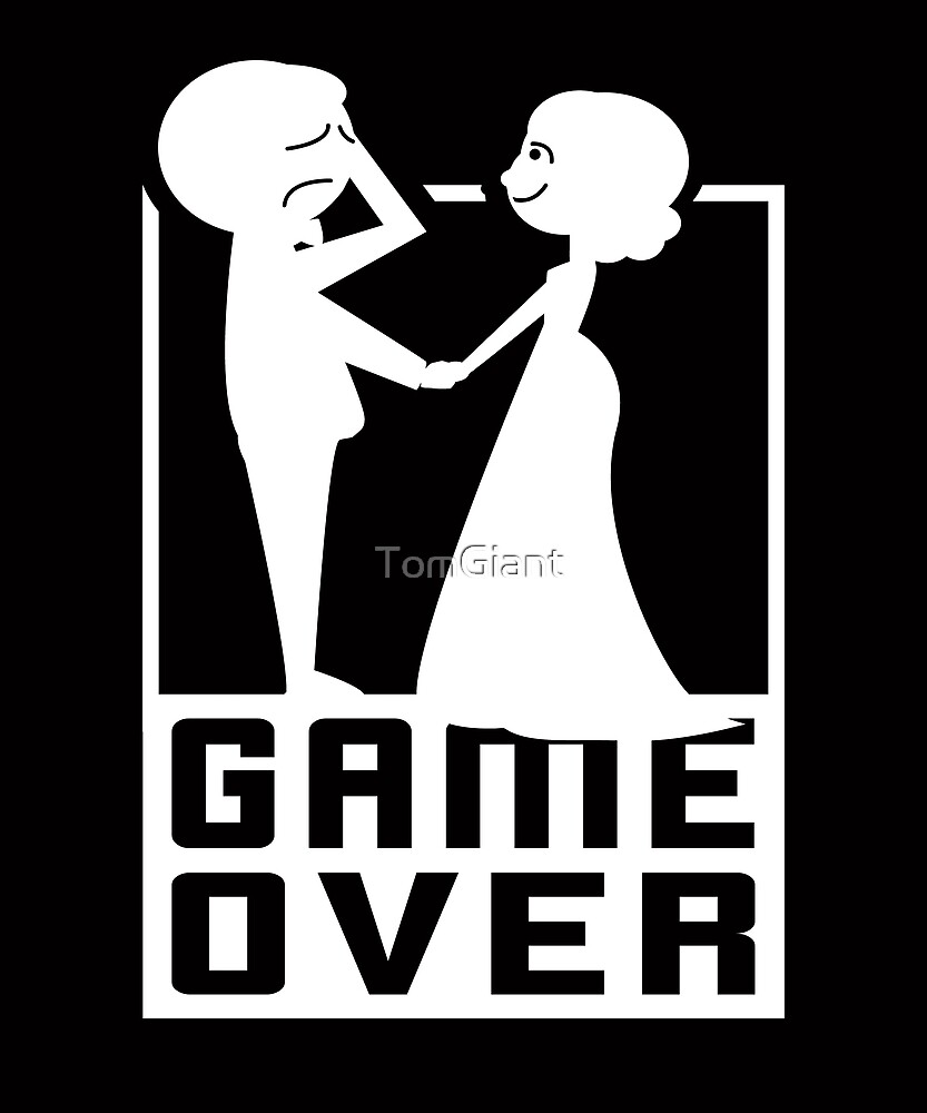 Game Over - Gift - Shirt by TomGiant