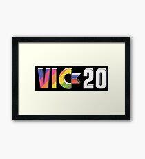 Vic 20 Framed Print
