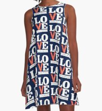 Love Bacon Forever A-Line Dress