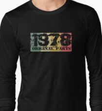 1978 - Vintage Distressed Design 40 Year Old Long Sleeve T-Shirt