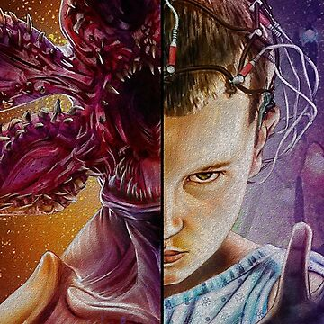 Demogorgon vs Eleven by storebycaste
