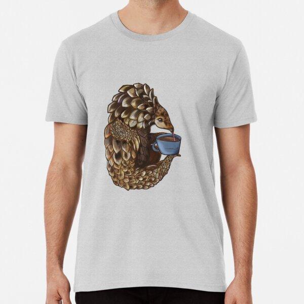 Tea with a pangolin Premium T-Shirt